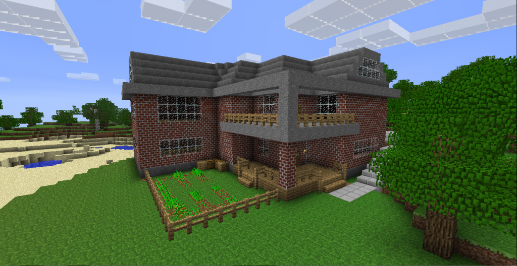 easy minecraft house designs quotes