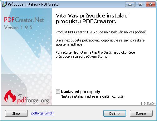 pdf_creator-spusteni_instalace