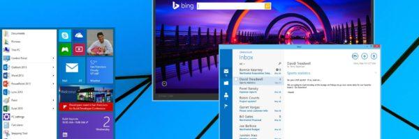 ukázka systému Windows 9